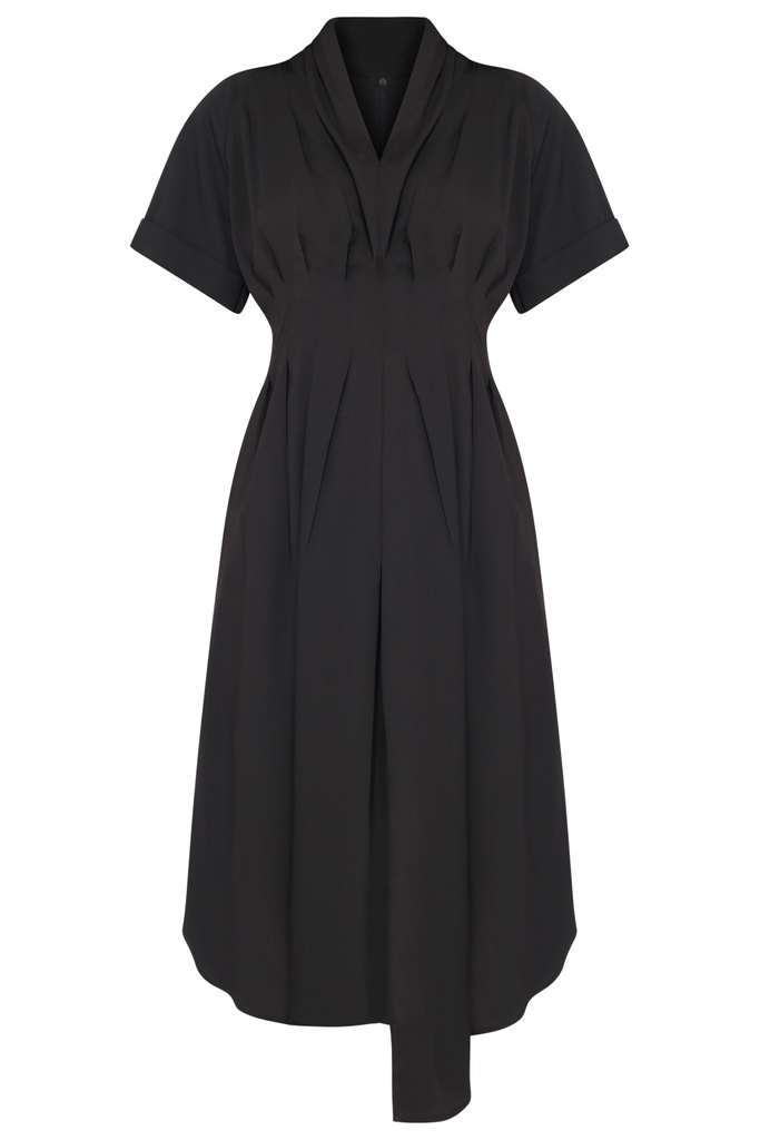 Đầm Briar Asymmetric Dress/ Black