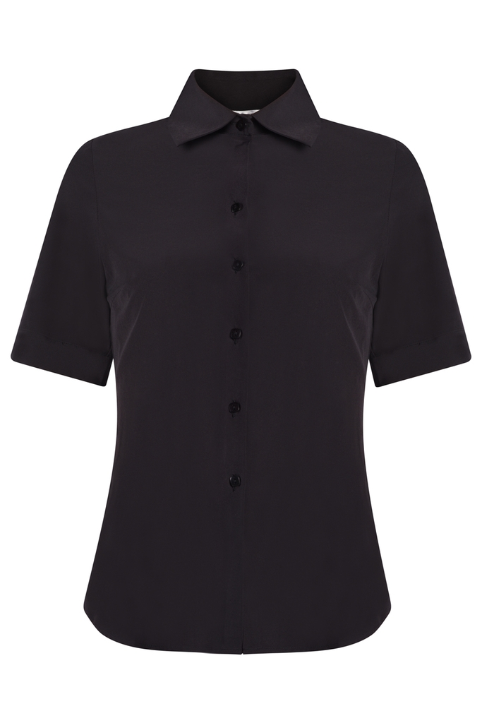 Pisa Short-sleeved Shirt/Black