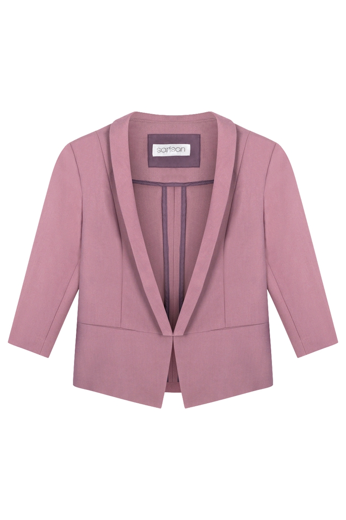 Angela Suit Jacket/ Opera Mauve