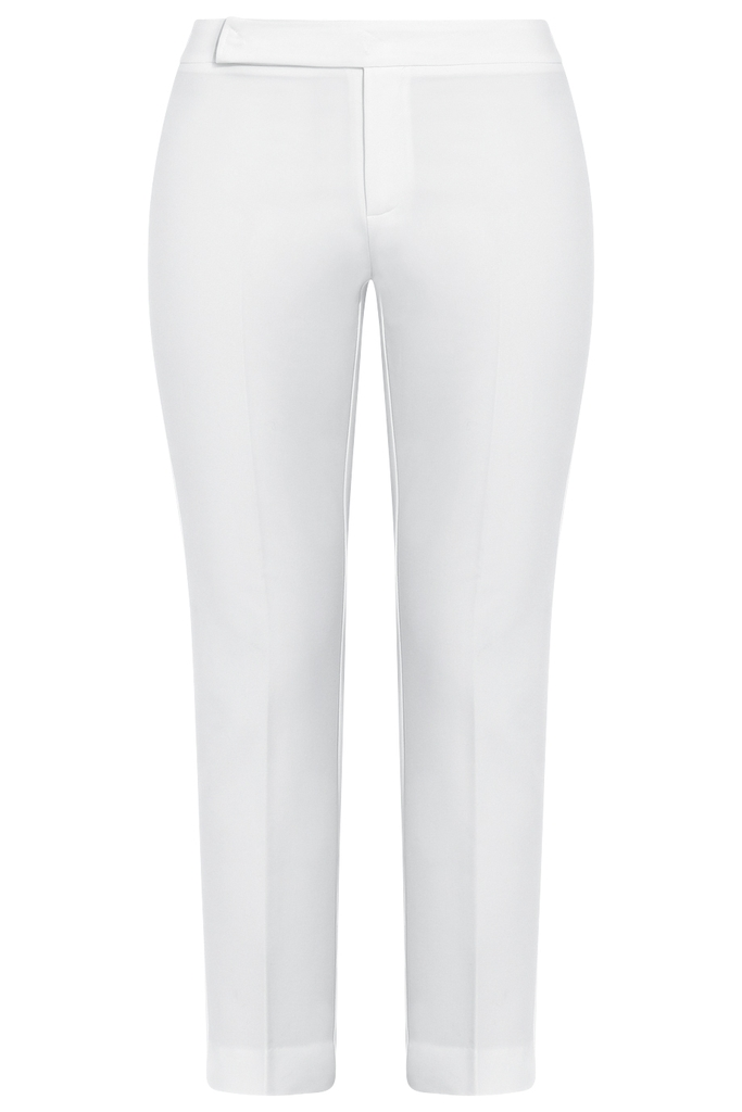 Quần âu Louise Cigarette Pants/ Cream White