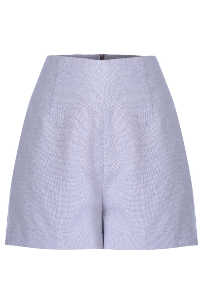Quần short Noelani High-waisted Linen Shorts/ Lavender 2118