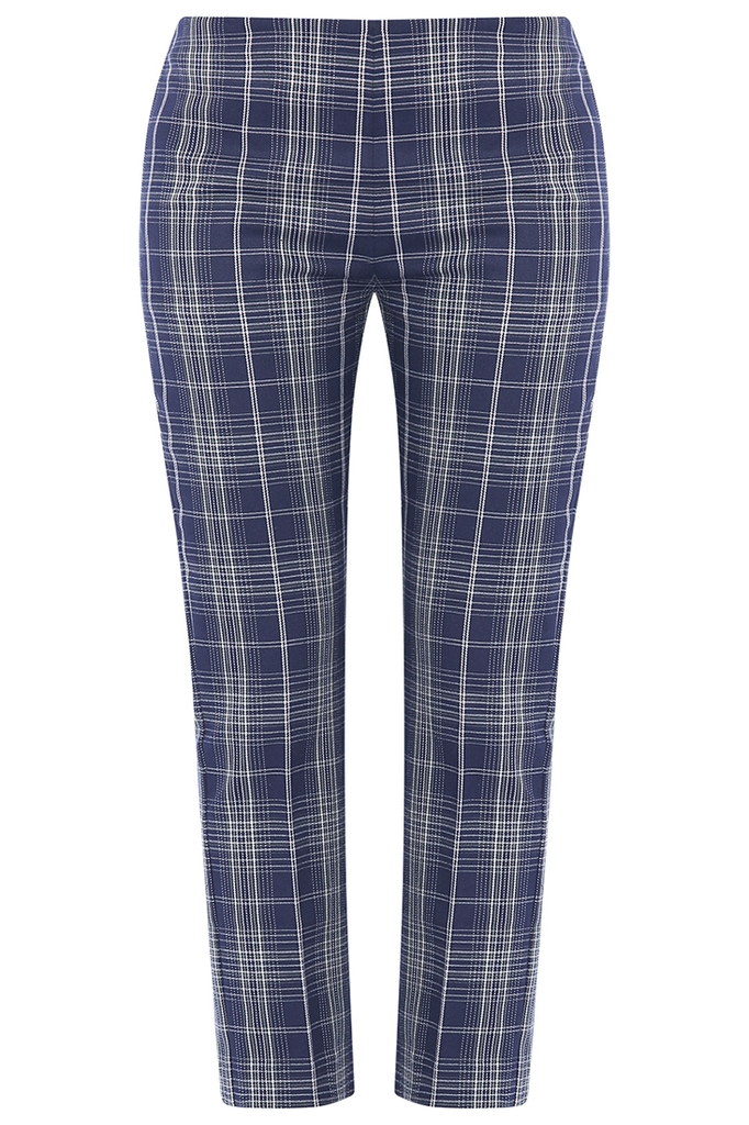 Winston High-waisted Pants/ Navy Block