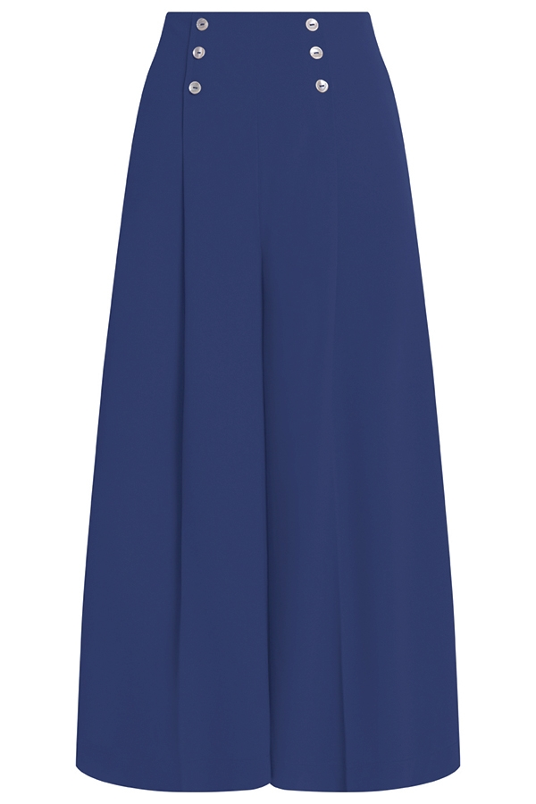 Sienna Ankle Palazzo Pants/ Aegean
