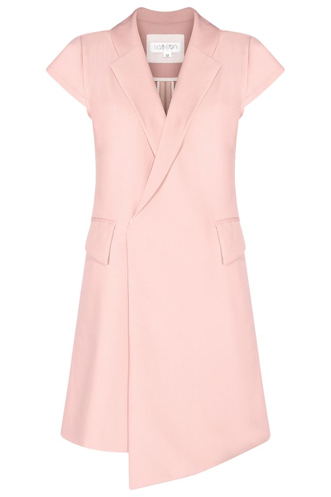 Tegan Jacket Dress/ Flamingo