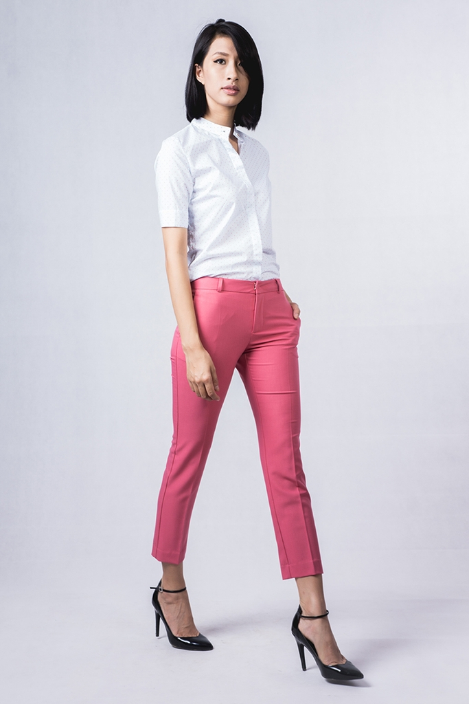 Pepper Pants/ Punch Pink