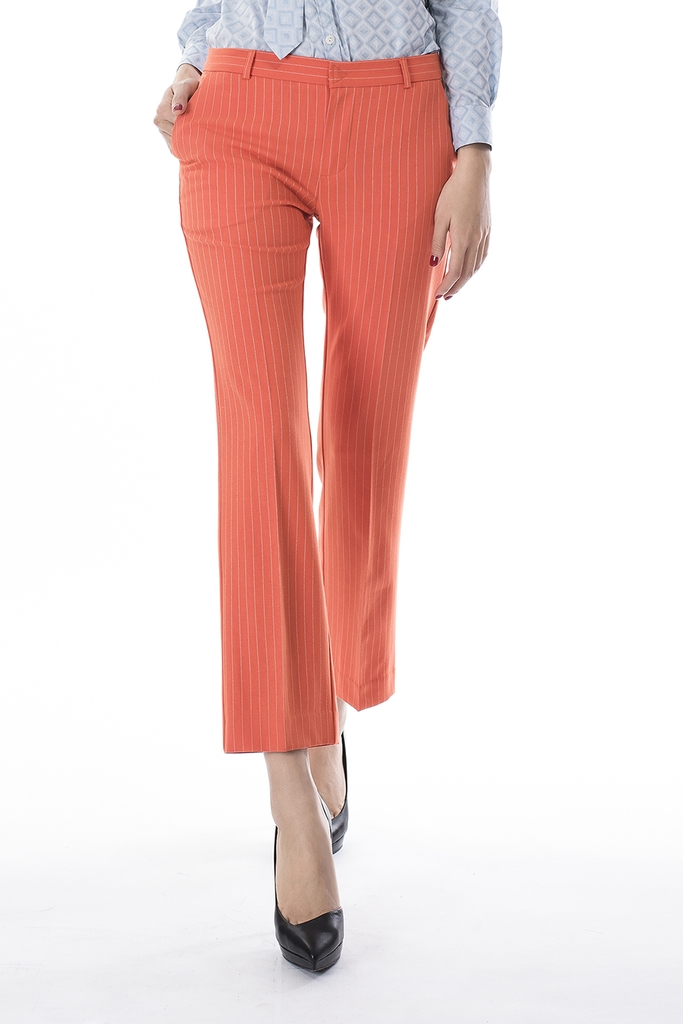 Quần âu Stamford Suit Pants/ Orange Stripe
