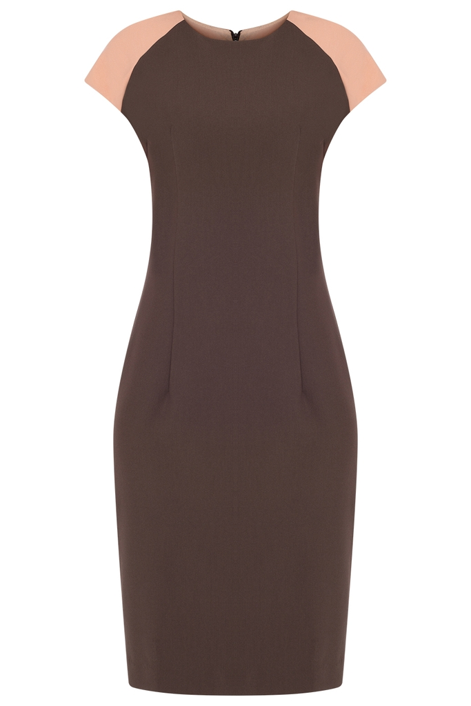 Nicky Sheath Dress/ Espresso