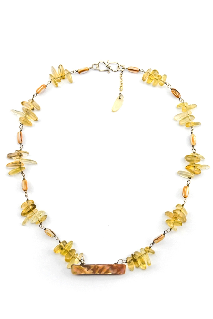 Vòng cổ Brisei Lemon Shell Necklace