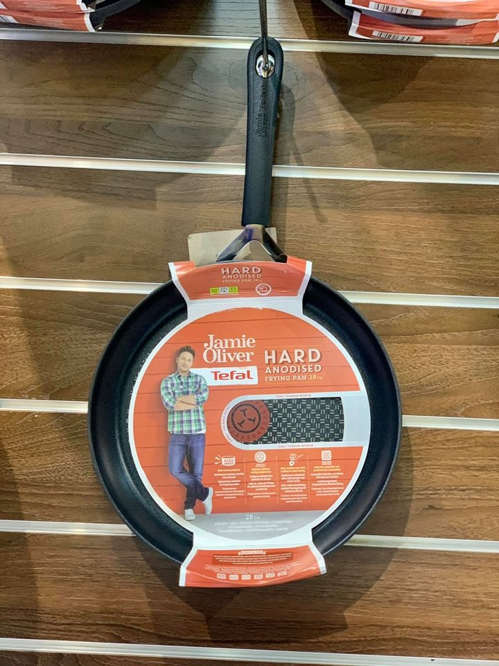 CHẢO TEFAL JAMIE OLIVER HARD ANODISED SIZE 28CM