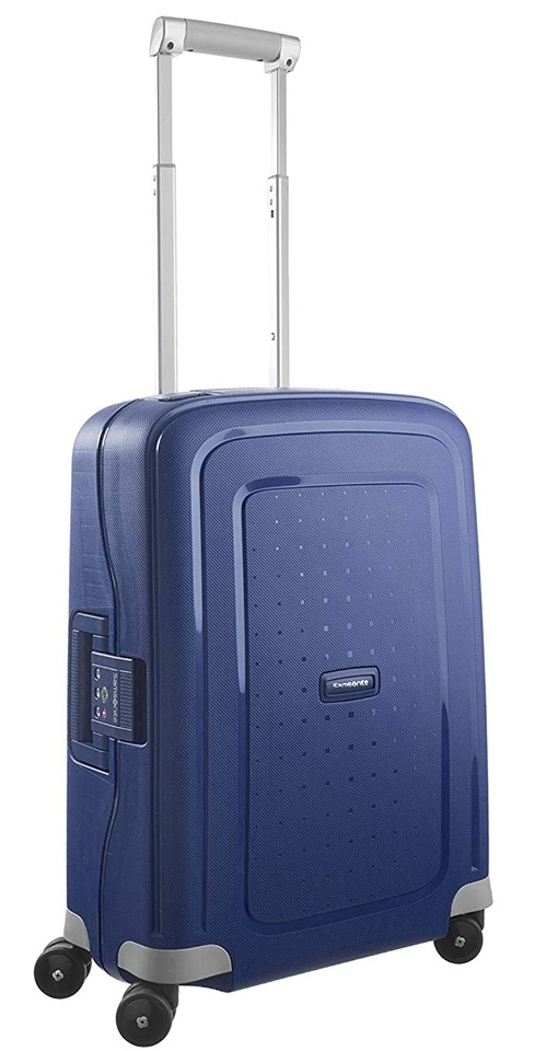 VALI SAMSONITE S'Cure Spinner 55/20 Size Cabin Xanh (Dark Blue)