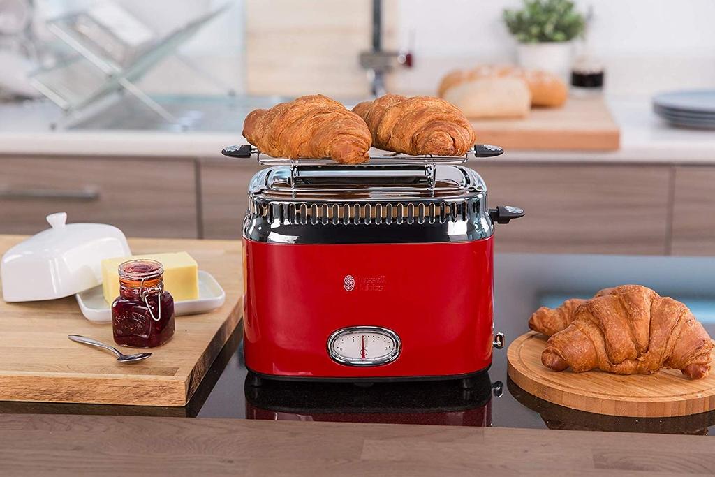 MÁY NƯỚNG BÁNH MÌ Russell Hobbs Toaster Retro Shop Hàng Đức