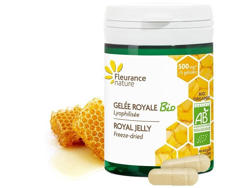 Kết quả hình ảnh cho Viên ong chúa hữu cơ Fleurance (50V)
