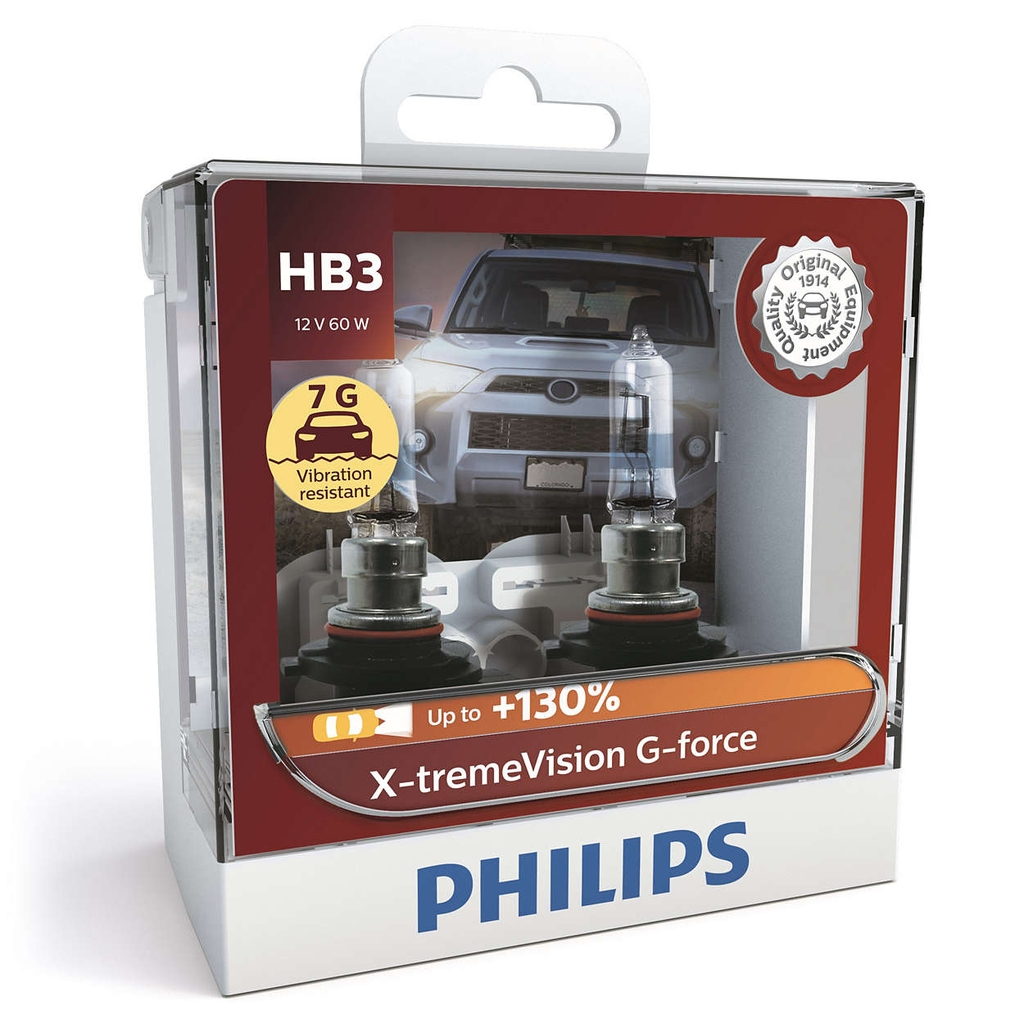 Đèn pha Halogen Philips Xtreme Vision G Force +130%