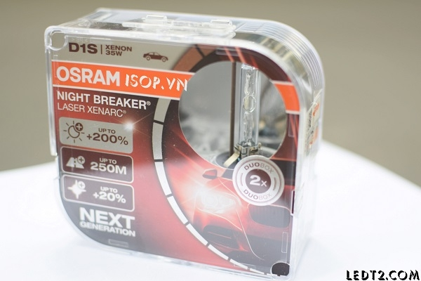 Xenon Osram Night Breaker Laser Xenarc +200%