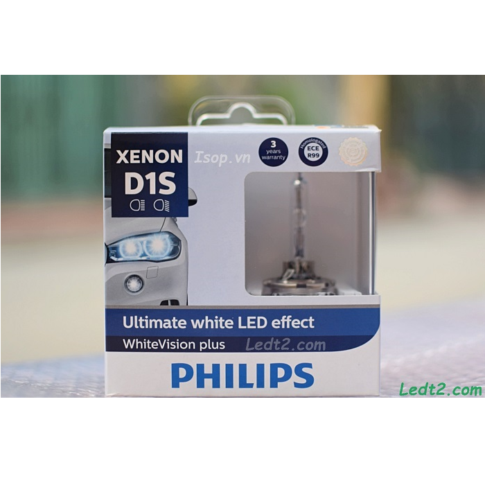HID Xenon Philips Ultimate White LED 5000K