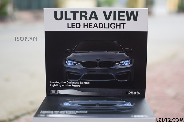 Đèn pha LED Ultra View Gen 2 +250%