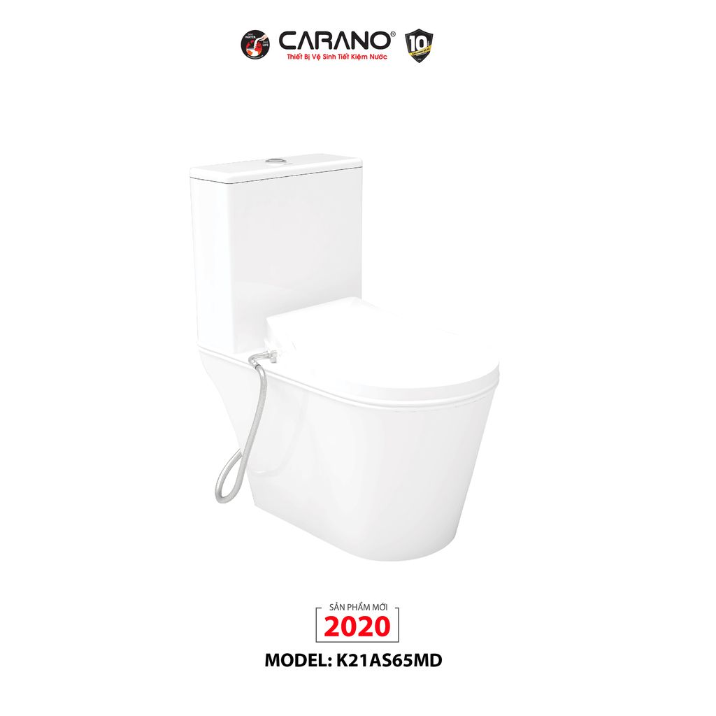 BỒN CẦU 1 KHỐI CARANO K21AS65MD(MODEL: K21AS65MD)