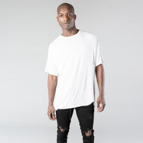 Kollar | Essential Concave Tee / White