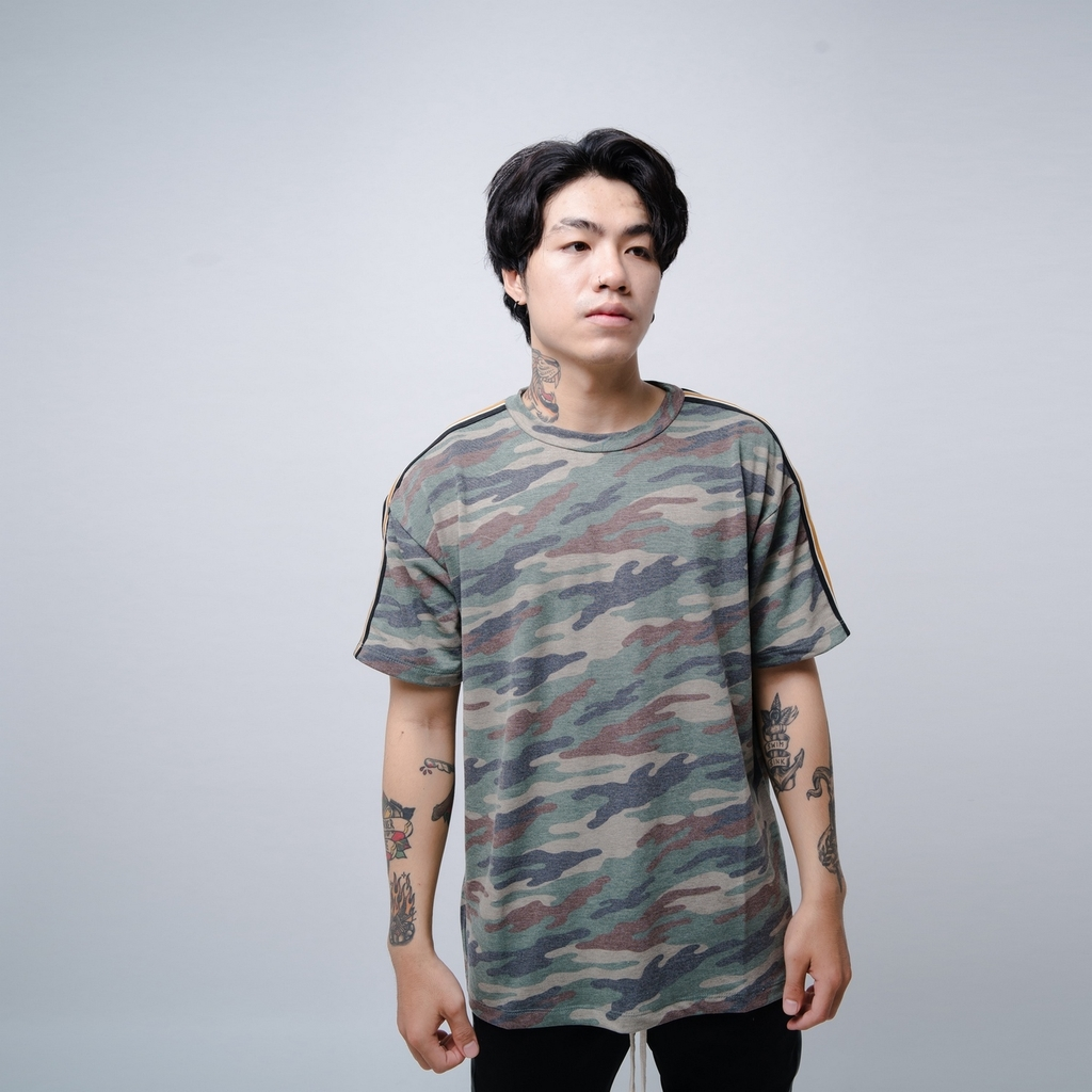 EPTM | Taped Camo Tee / Arrmy Green