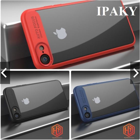 Ốp lưng iPhone 7 Ipaky  Chống Sốc Mặt Lưng Trong Suốt