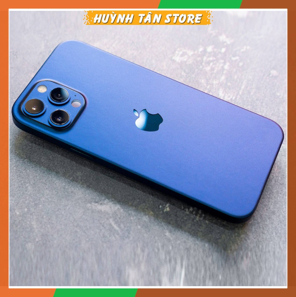 Dán skin 3M 2080 USA dành cho iPhone 12, 12 Pro, 12 Pro Max - Blue Metalic.