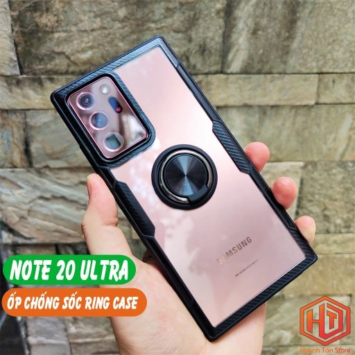 Ốp lưng Samsung Note 20 Ultra chống sốc Ring Case
