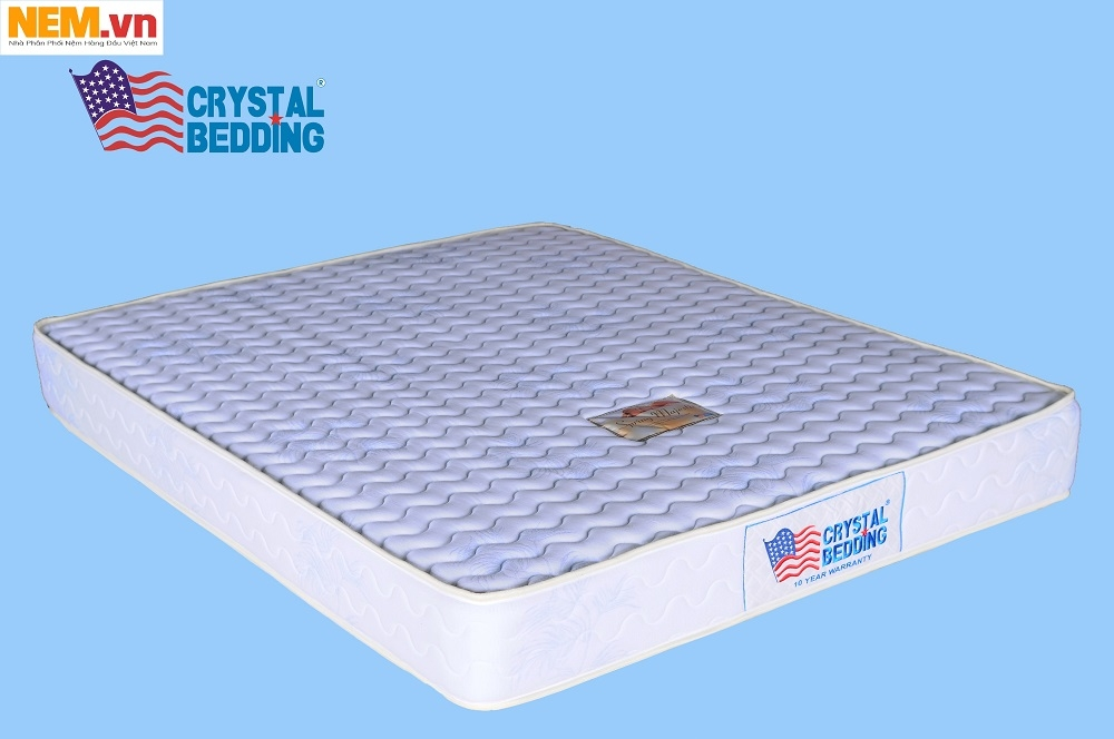 NỆM LÒ XO TÚI USA CRYSTAL BEDDING – MAJESTIC