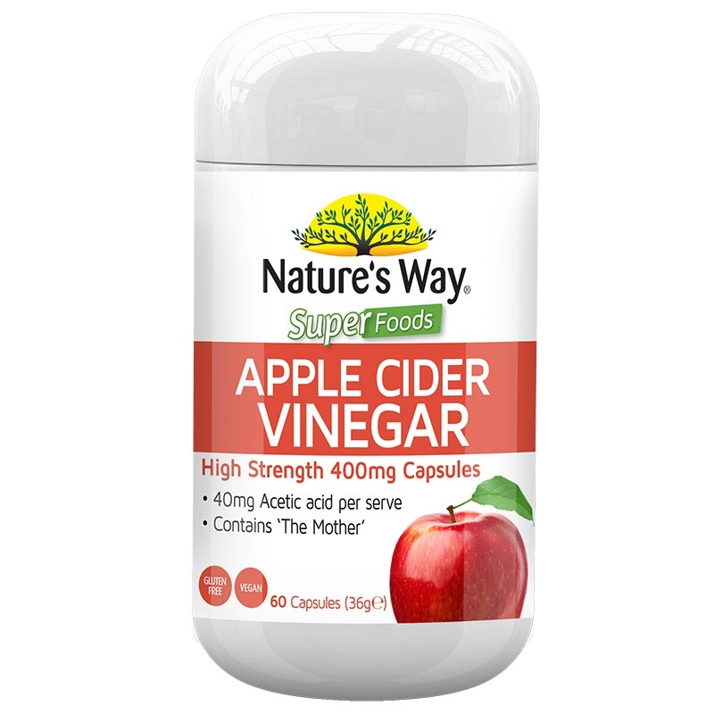 Nature's Way Superfoods Apple Cider Vinegar - 60 viên