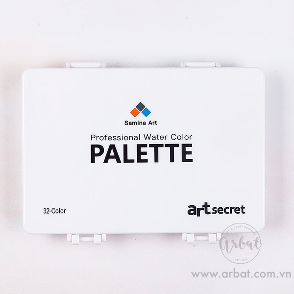 Palette mini 32 ô Art Secret