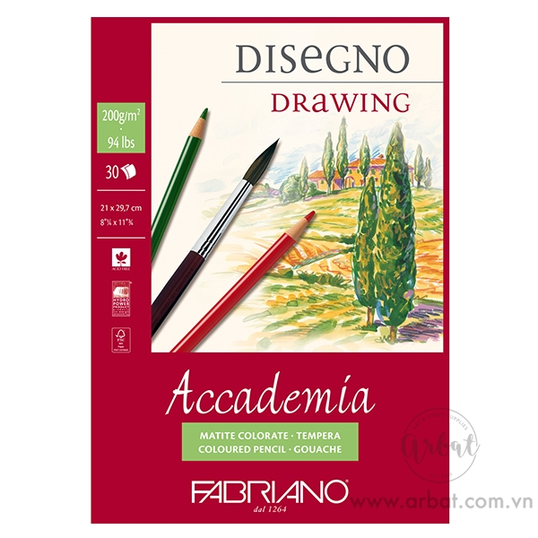Sổ Fabriano Accademia Drawing