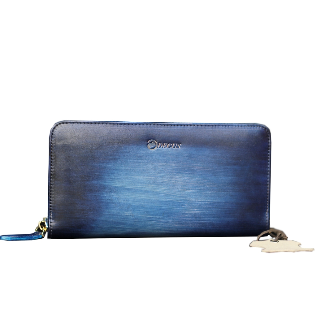 Wallet Patina Cobalt
