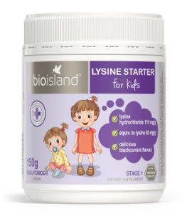 BIO ISLAND LYSINE STARTER FOR KIDS 150g ORAL POWDER