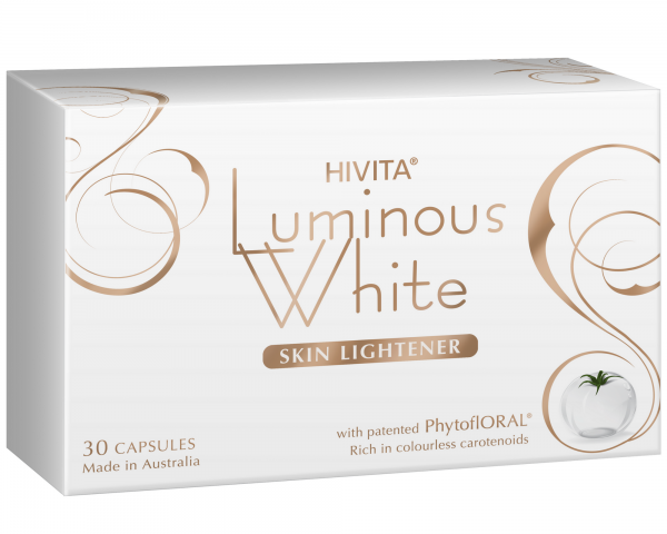 Luminous White Skin Lightener - 30 Capsules