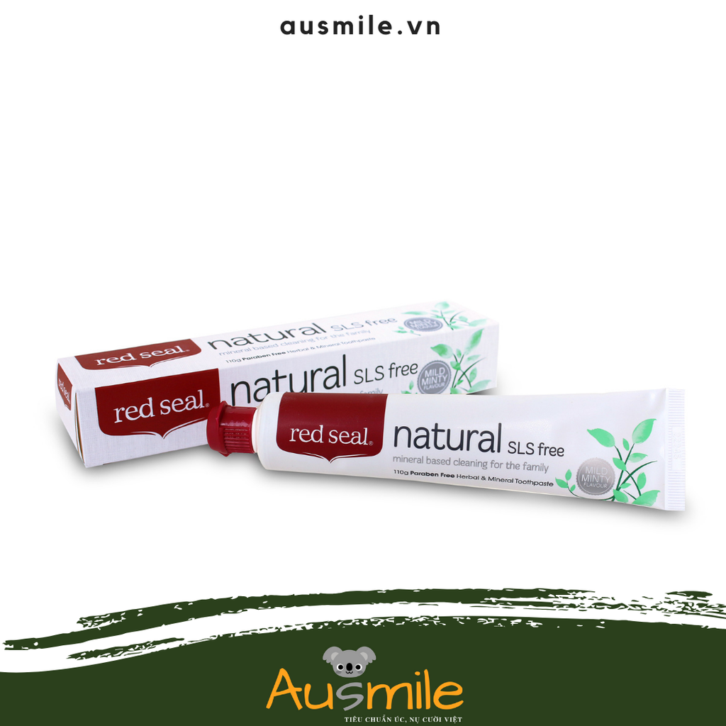 Kem Đánh Răng Red Seal Natural SLS free Toothpaste