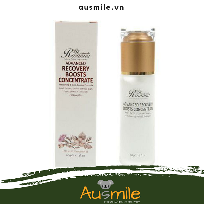 Kem dưỡng da Rosanna Advanced Recovery Boosts Concentrate