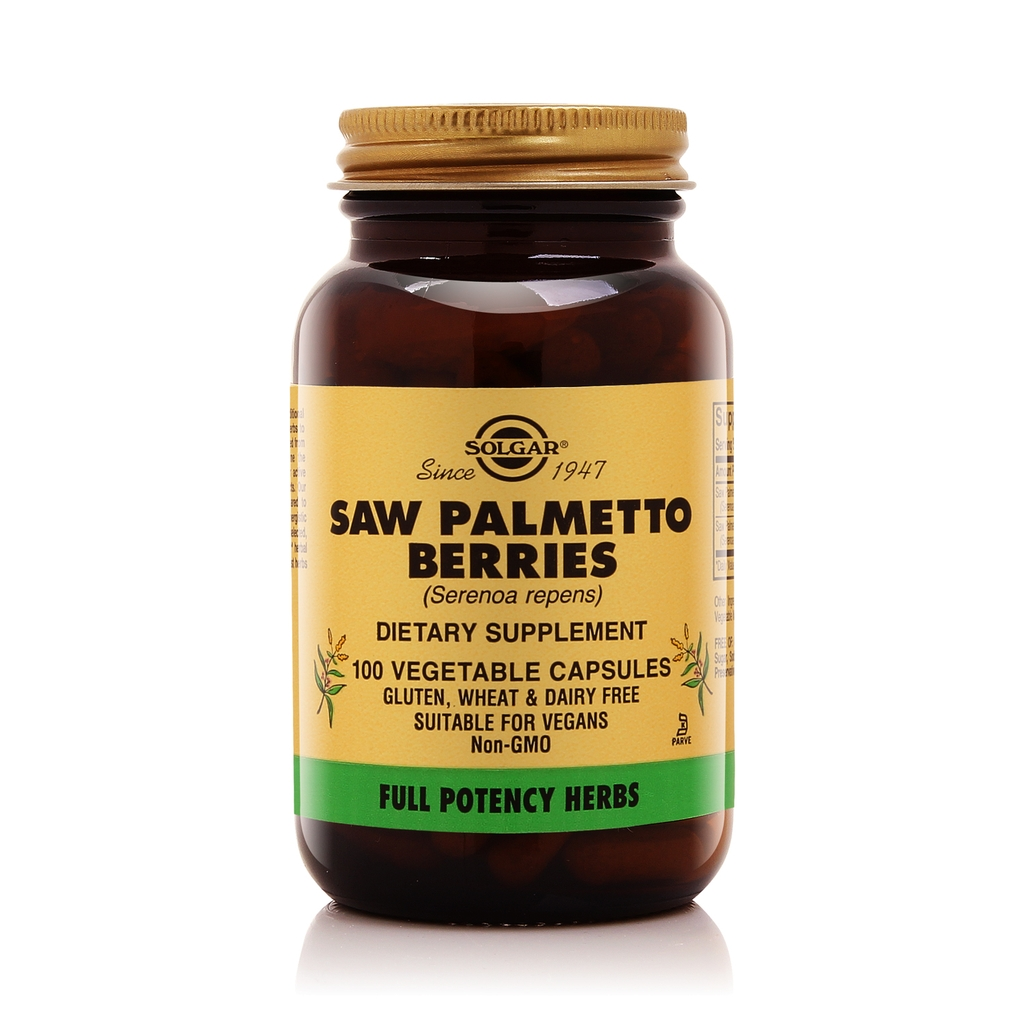 Solgar® Saw Palmetto Berries 100 Vegetable Capsules