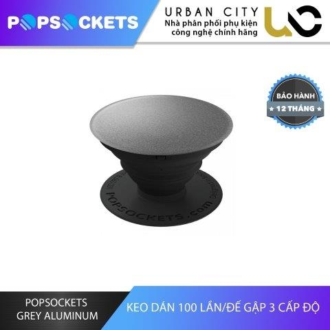 PopSockets Grey Aluminium
