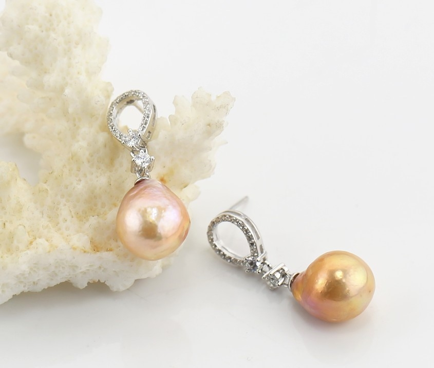 Gorgeous baroque pearl Earrings