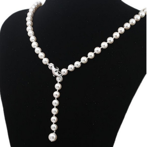 Dolphin Pearl Necklace