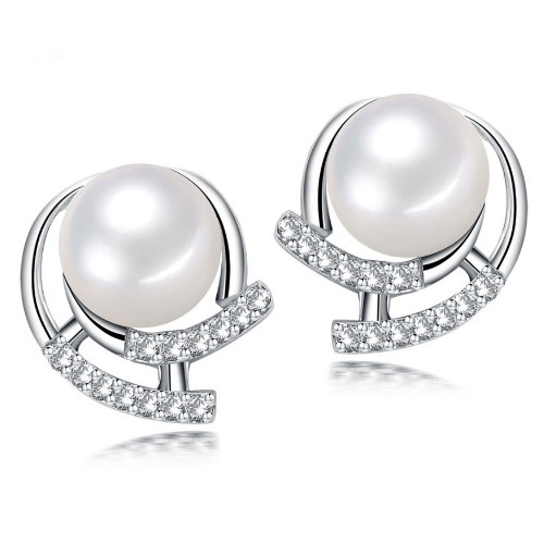 Gorgeous Stud Pearl Earrings