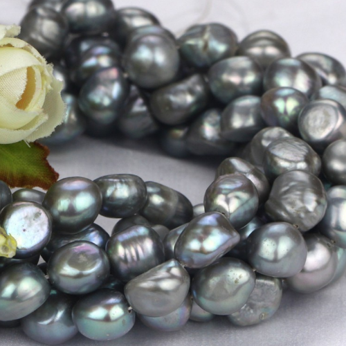 8mm baroque pearl strand