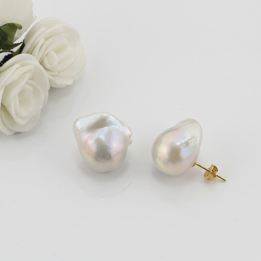 Unique baroque pearl Earrings