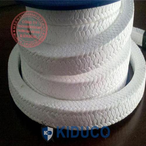 Dây tết chèn teflon màu trắng Kiduco Pure PTFE Packing 1