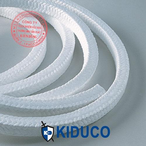 Dây tết chèn teflon màu trắng Kiduco Pure PTFE Packing