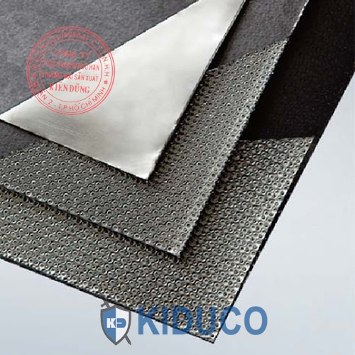 Tấm gioăng chì Graphite Sheet Reinforced with Tanged Metal