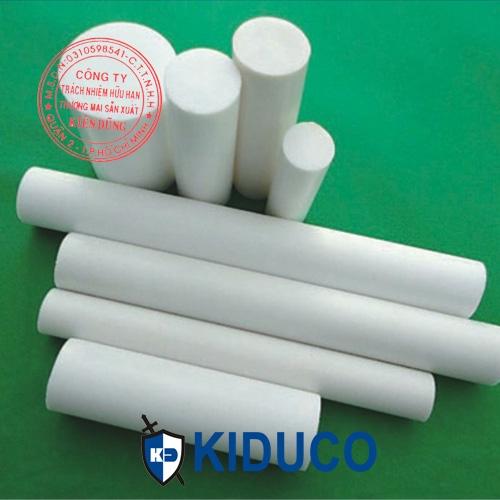 Nhựa teflon cây - PTFE Rod dạng cây trụ đặc tròn