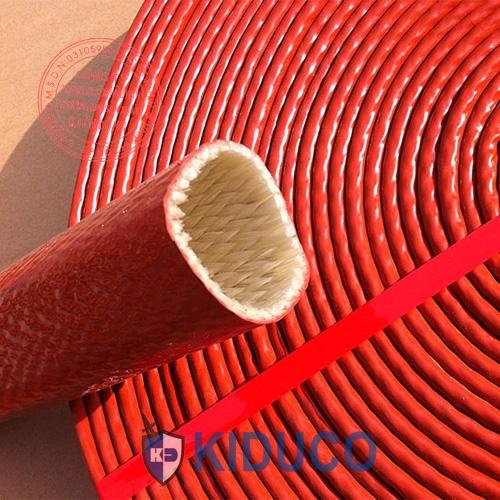 Ống bảo ôn chịu nhiệt Kiduco Silicone Coated Fiberglass Sleeve 1
