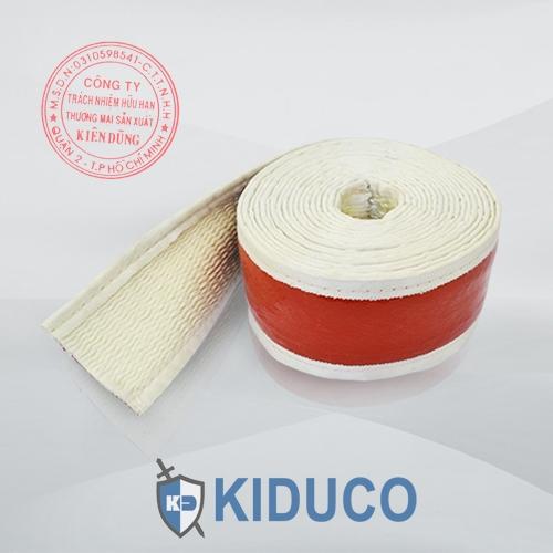 Băng cuộn bảo ôn Kiduco Silicone Coated Fiberglass Sleeve Tape