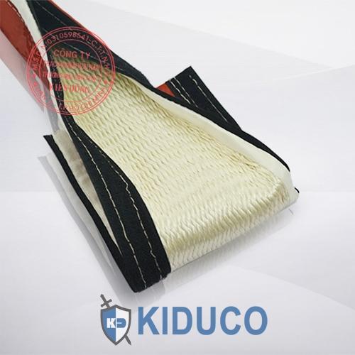 Băng dán bảo ôn Kiduco Silicone Coated Fiberglass Sleeve Velcro