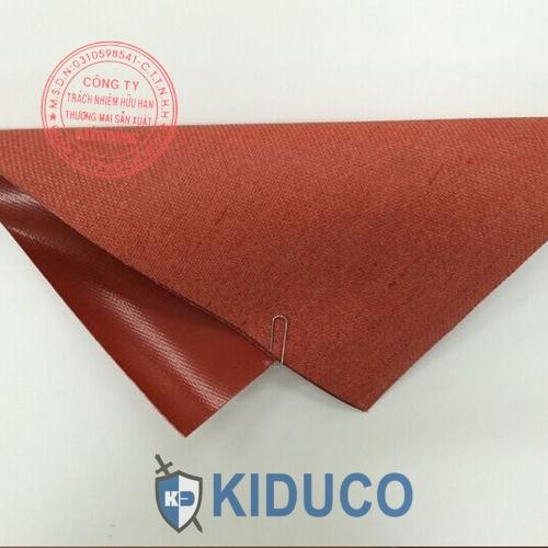 Vải chịu nhiệt, vải chống cháy Kiduco Silicone Coated Fiberglass 1